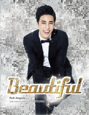 """Album art for Park Jung Min's album """"beautiful"""""""