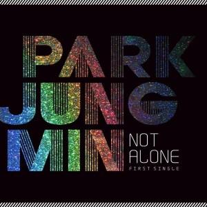 "Album art for Park Jung Min's album ""Not Alone"""