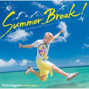 """Album art for Pakr Jung Min's album """"Summer Break"""""""