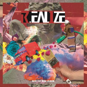 "Album art for Ravi's album ""R.EAL1ZE"""