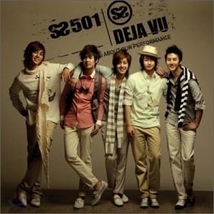 """Album art for SS501's album """"DejaVu"""""""