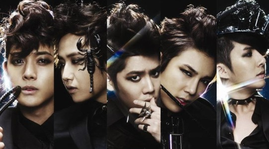 "SS501's ""Destination"" promotional picture."