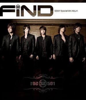 """Album Art for SS501's album """"Find"""""""