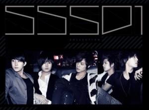 """Album art for SS501's album """"Solo Colloction"""""""