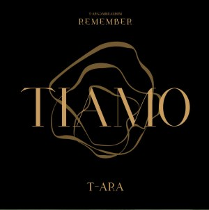 "Album art for T-Ara's album ""Remember"""