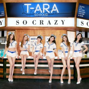 "Album art for T-Ara's album ""So Good"""
