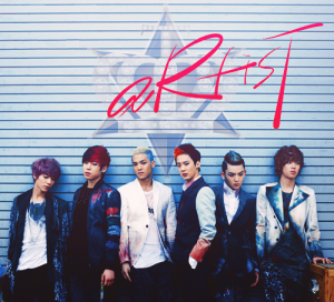 "Album art for Teen Top's album ""Artist:"