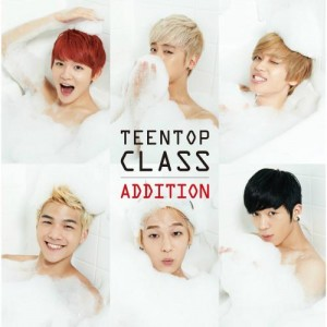 "Album art for Teen Top's album ""Class Addition"""