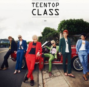 "Album art for Teen Top's album ""Class"""