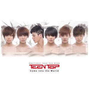 "Album art for Teen Top's album ""Come Into The World"""