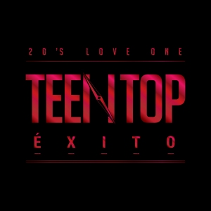 "Abum art for Teen Top's album ""EXITO"""