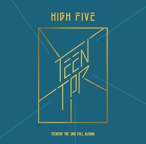 """Album art for Teen Top's album """"High Five"""""""