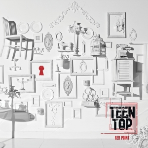 "Album art for Teen Top's album ""Red Point"""