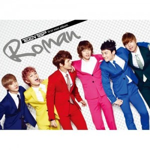 "Album art for Teen Top's album ""Roman"""