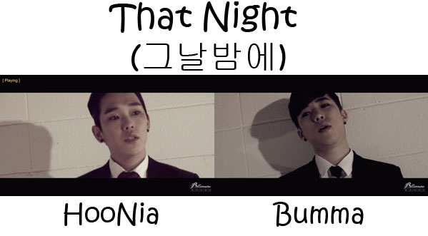 "The members of Billionaire in the ""That Night"" MV"