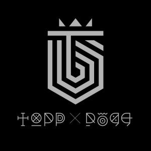 "Album art for Topp Dogg's album ""Dogg's Out"""
