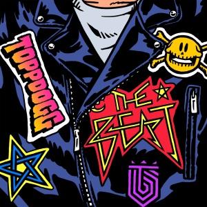 "Album art for Topp Dogg's album ""The Beat"""