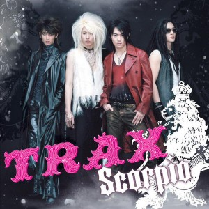 "Album art for TRAX's album ""Scorpio"""