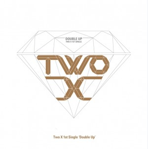 "Album art for Two-X's album ""Double Up"""