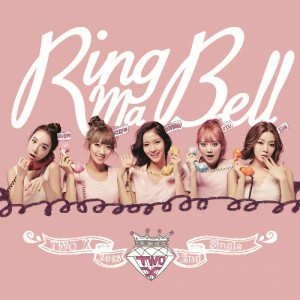 "Album art for Two-X's album ""Ring Ma Bell"""