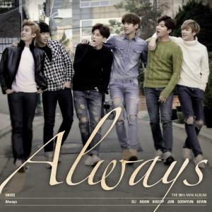 """Album art for U-Kiss's Album """"Always"""""""