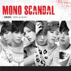 "Album art for U-Kiss's album ""Mono Scandal"""