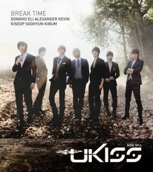 """Album art for U-Kiss's album """"Break Time"""""""
