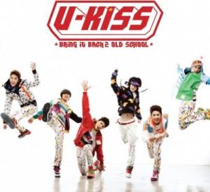 "Album art for U-Kiss's album ""Bring It Back 2 Old School"""