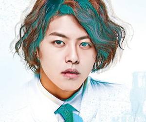 U-Kiss' former member Dongho.