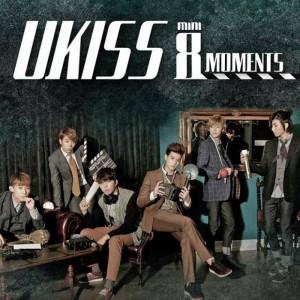 "Album art for U-Kiss's album ""Moments"""