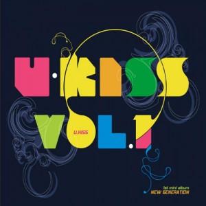 "Album art for U-Kiss's album ""New Generation"""