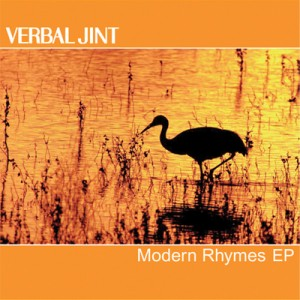 "Album art for Verbal Jint's album ""Modern Rhymes"""