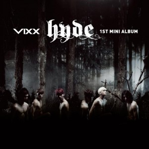 "Album art for VIXX's album ""Hyde"""