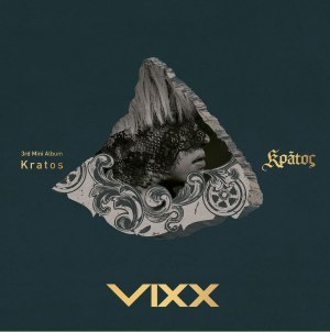 "Album art for VIXX's album ""Kratos"""