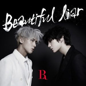 "Album art for VIXX LR's album ""Beautiful Liar"""
