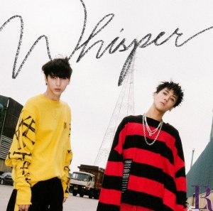 "Album art for VIXX LR's album ""Whisper"""