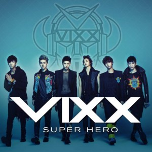 "Album art for VIXX's album ""Super Hero"""