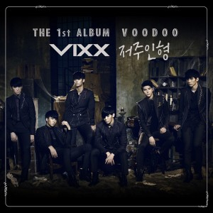 "Album art for VIXX's album ""Voodoo"""
