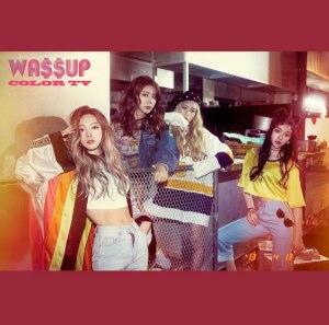 """Album art for WA$$UP's album """"Color TV"""""""