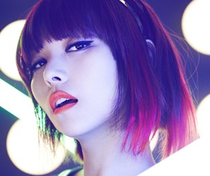 "Wonder Girls' Sunye ""Wonder Party"" promotional picture."