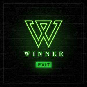 """Album art for WINNER's album """"EXIT:E"""""""