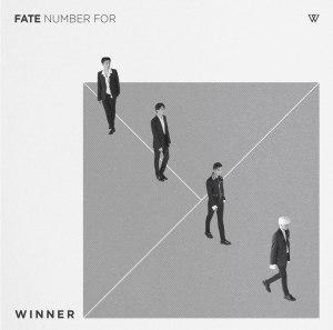 """Album art for Winner's album """"Fate Number For"""""""