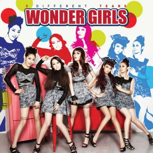 "Album art for Wonder Girls's album ""2 Different Tears"""