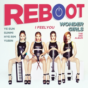"Album art for Wonder Girl's album ""Reboot"""