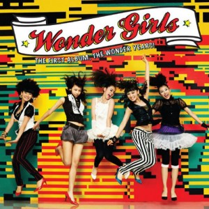 "Album art for Wonder Girls's album ""the Wonder Years"""