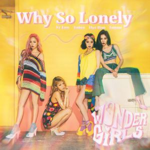 "Album art for Wonder Girl's album ""Why So Lonely"""