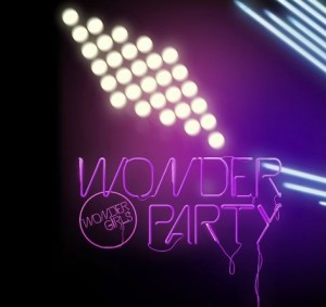 "Album art for Wonder Girls's album ""Wonder Party"""