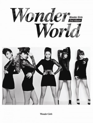 "Album art for Wonder Girls's album ""Wonder World"""