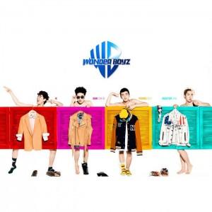 """Album art for Wonder Boyz's album """"Open The Door"""""""