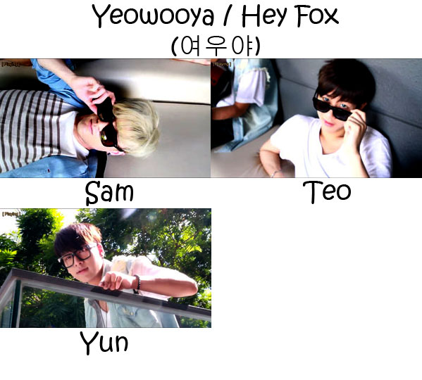 "The members of Lunafly in the ""Yeowooya / Hey Fox"" MV"